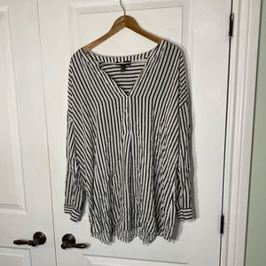 Love and Legend Long Sleeve Striped Shirt